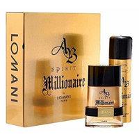 AB Spirit Millionaire Gift Set By: Lomani, Men's
