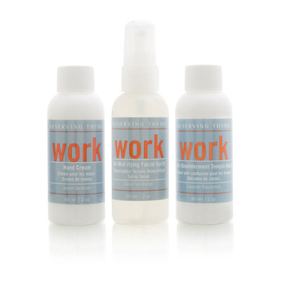 Deserving Thyme Aromatherapy Potions Lotions for Survival at Work Set