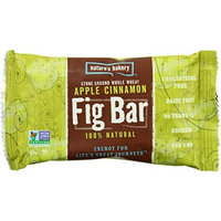 Nature's Bakers Nature's Bakery Whole Wheat Fig Bar, Apple Cinnamon, 6 Bars (Pack of 12)