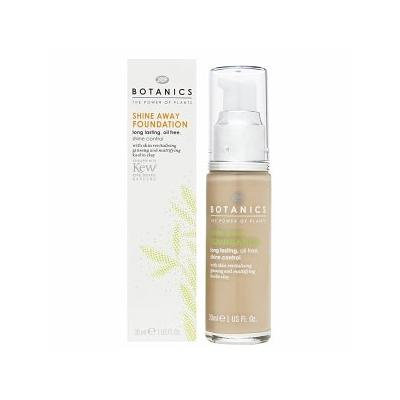 Boots Botanics Shine Away Foundation, Vanilla 1 fl oz