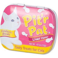 Chomp Pit'r Pat Liver Flavor Tasty Treats for Cats