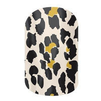 Jamberry Nails Half Sheet Nail Wrap Animal Prints (Natural Leopard)