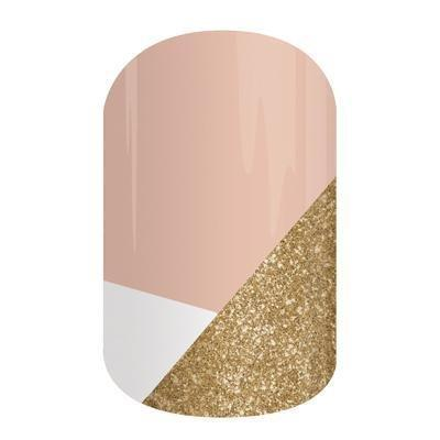 Jamberry Nails Half Sheet Nail Wrap Graphics Design (Obsessed)