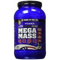 Weider MEGA MASS, Clean Anabolic Mass Gainer Formula, Creamy Vanilla, 3.96lbs
