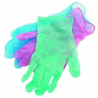 Spontex #76153 12CT Color Vinyl Gloves