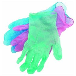 Spontex #76153 12CT Color Vinyl Gloves