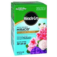 Miracle Gro 1 Lb. Garden Pro Water Soluble Miracid Plant Food 30-10-10 (175001)