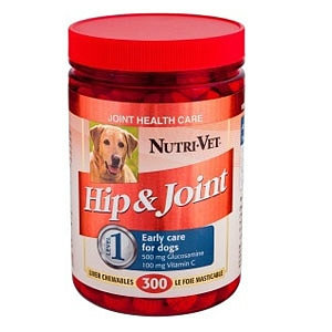 Nutri-Vet Hip & Joint Formula Chewables With Glucosamine and Vitamin C