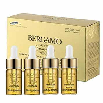 Bergamo - Luxury Gold Collagen & Caviar Wrinkle Care Intense Repair Ampoule Set - Facial Care
