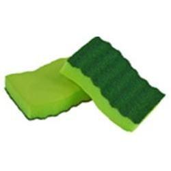 Lysol Sponges Odor Resistant Heavy Duty Scrubber Sponges (2-Pack) 57507-2PDQ