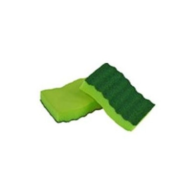 Lysol Sponges Odor Resistant Heavy Duty Scrubber Sponges (2-Pack) 57507-2PDQ