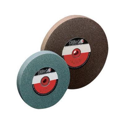 CGW Abrasives Bench Wheels, Green Silicon Carbide, Single Pack - 7x1x1 t1 gc60iv bench wheel 1 pk