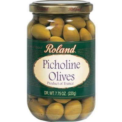 Roland Picholine Olives (Case of 12) | Gourmet Italian