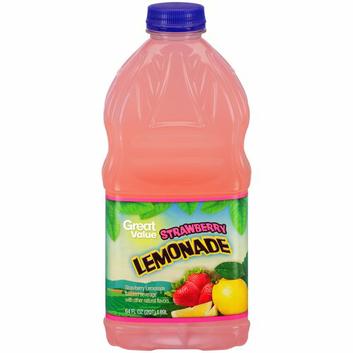 Great Value Strawberry Lemonade