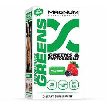 Magnum Nutraceuticals Performance Greens Supplement, 250 Gram