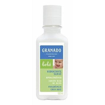 Linha Bebe Granado - Locao Corporal Hidratante Erva Doce 100 Ml - (Granado Baby Collection - Fennel Moisturizer Body Lotion 3.4 Fl Oz)