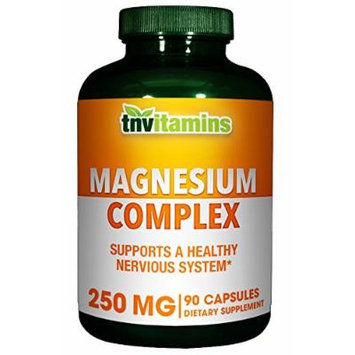 Magnesium Complex From Oxide Plus Aspartate & Citrate 250 Mg- 90 Capsules