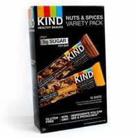 Kind Healthy Snacks 18-1.4 OZ Nuts and Spices Variety Pack Bars, 25.2 OZ