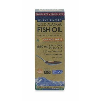 Wild Alaskan Fish Oil 660 mg Orange Burst (2.03 fl oz)