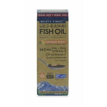 Wild Alaskan Fish Oil 660 mg Orange Burst (2.03 fl oz)