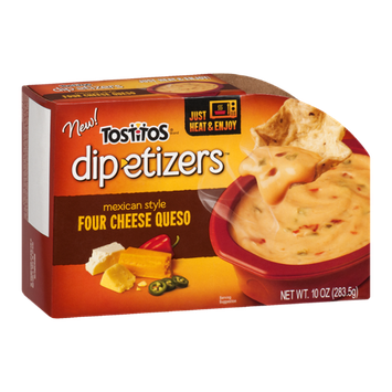 Tostitos®  Dip-etizers Mexican Style Four Cheese Queso