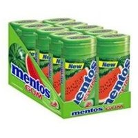 Mentos Gum Bottle Watermelon - 10x15 Pc