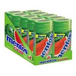Mentos Gum Bottle Watermelon - 10x15 Pc