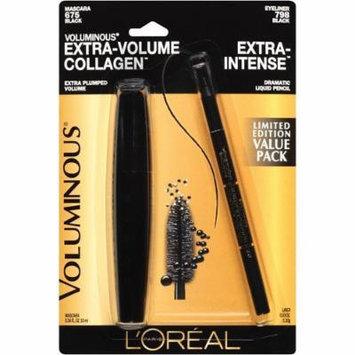 L'Oréal Paris Voluminous Extra-volume Collagen Mascara + Extra-intense Black Eyeliner