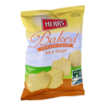 Herr's Salt & Vinegar Baked Potato Crisps