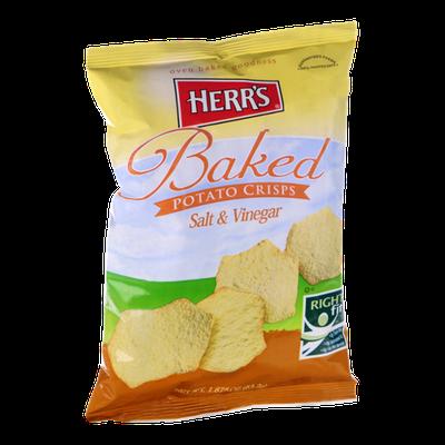 Herr's Salt & Vinegar Baked Potato Crisps