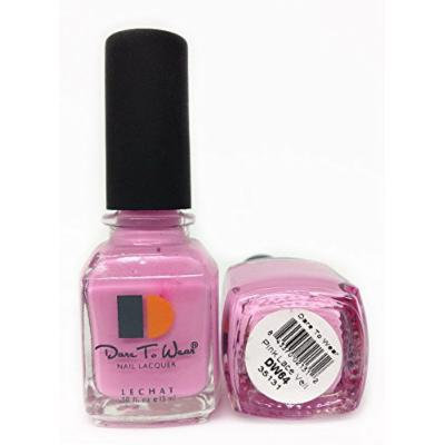 LECHAT Dare to Wear Nail Polish, Pink Lace Veil, 0.500 Ounce