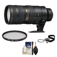 Nikon 70-200mm f/2.8G VR II AF-S ED-IF Zoom-Nikkor Lens + UV Filter + Accessory Kit for D3200, D3300, D5200, D5300, D7000, D7100, D610, D800, D810, D4s DSLR Cameras
