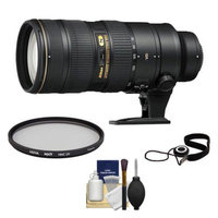 Nikon 70-200mm f/2.8G VR II AF-S ED-IF Zoom-Nikkor Lens + UV Filter + Accessory Kit for D3200, D3300, D5200, D5300, D7000, D7100, D610, D800, D810, D4s DSLR Cameras