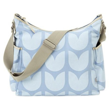 OiOi Tulip Hobo Diaper Bag in Baby Blue