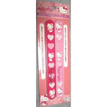 Hello Kitty Nail Files 2pcs [Pink]