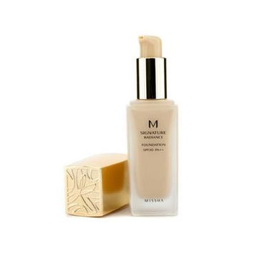 Missha M Signature Radiance Foundation Spf 20 # No. 21 Light Beige 35Ml/1.18Oz