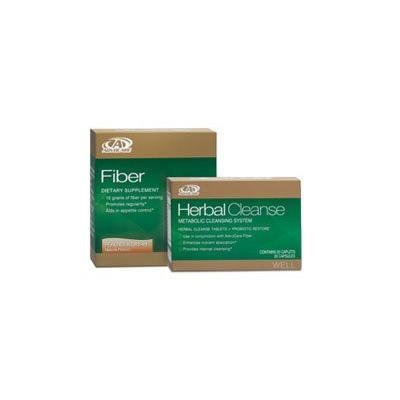 Advocare Herbal Cleanse Fiber Peaches Cream Kit Herbal