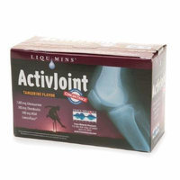 Trace Minerals Research ActivJoint Nutritional Support for Healthy Bones & Joints, Tangerine 30 packets