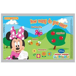 Neat Solutions Table Topper - Minnie Mouse - 18 ct