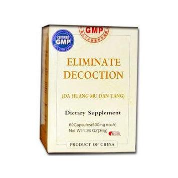 Eliminate Decoction (Da Huang Mu Dan Tang) 60 Capsules X 3