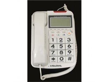 Northwestern Bell NWB202701 Big Button with Caller ID WHITE