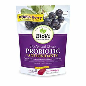 BioVi Probiotic and Antioxidants - Mixed Berry 30 Chwbls