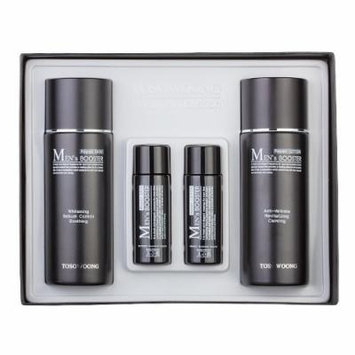 [Tosowoong]Mens booster skin+lotion set/150mlx2+30mlx2/men lotion+skin/men cosmetics/whitening+wrinkle/cosmetics