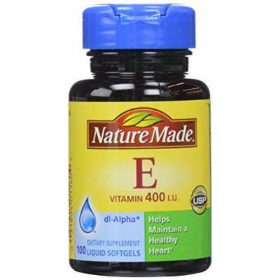 Nature Made Vitamin E 400, IU Softgels, 100 ct (Pack of 2)