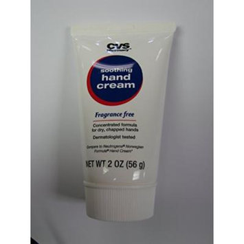 CVS Soothing Hand Cream, Fragrance Free