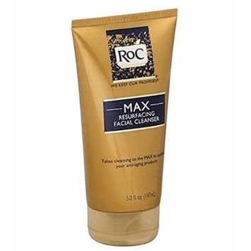 Roc Skincare MAX Resurfacing Facial Cleanser (Optimize the Performance of Your Anti-aging Products with This Luxurious Cleanser That Removes All Traces of Dirt) : Size 5 Fl Oz