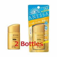Shiseido ANESSA Perfect UV SunScreen AA 25ml SPF50 PA++++ × 2 Bottles (Japan Import)