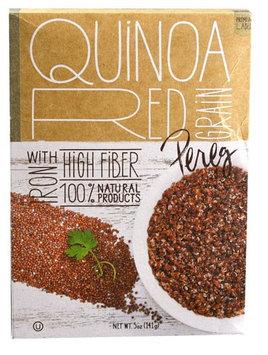 Pereg Gourmet All Natural Red Grain Quinoa 5 oz