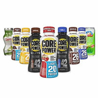 CORE POWER Natural High-Protein Milk Shake HEALTHY VARIETY (pack of 9)