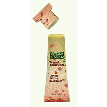 Rose Petal Deodorant All Natural By Organic Essence